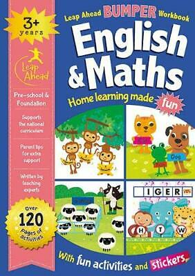 Leap Ahead Bumper Workbook: English and Maths 3+, , New condition, Book