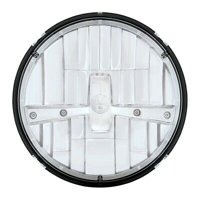 """7"""" Round Dual Function Led Headlight With Chrome Inner Cover"""