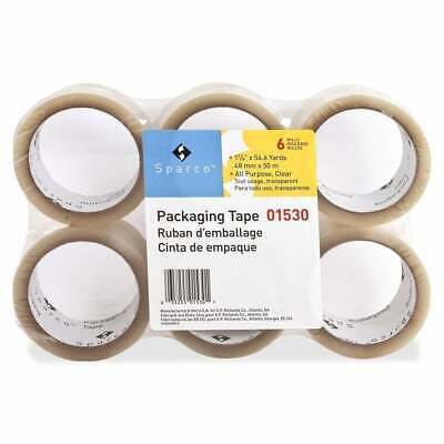 Sparco Transparent Sealing Tape (Carton of 36) Clear