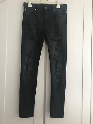 Boys River Island ripped skinny jeans aged 12
