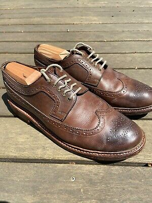 Grenson Archie brown leather mens shoes