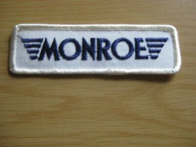 Monroe Shocks  Racing  Embroidered Sew On Patch