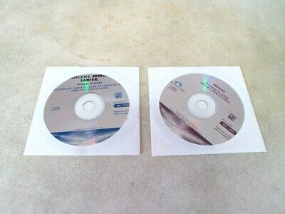 Driver CD for Ricoh Aficio and SP C430DN and C431DN photocpiers