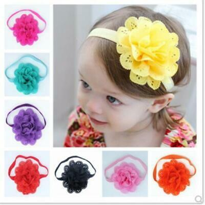 1PC Newborn Baby Girl Headband Infant Toddler Bow Hairband Girls Accessories New