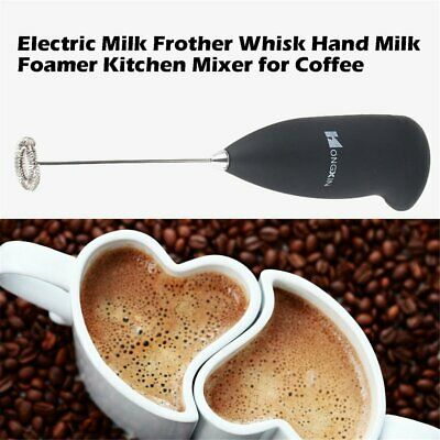 WHISKER WHISK CAPPUCCINO Blend UK Caffè Latte Macchiato LATTE Pannarello Hot Chocolate schiumoso