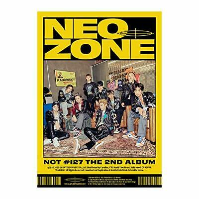 Nct 127-2Nd Album Nct #127 Neo Zone [N Ver.] Cd New