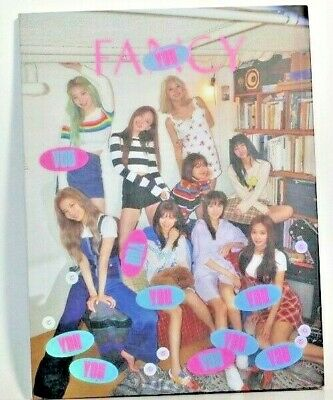 Twice - Fancy You (7th Mini) Photobook Pre-Order Gift NEW C Version Cover