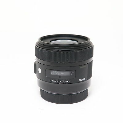 SIGMA  A 30mm F1.4 DC HSM (for Canon EF-S mount) #184