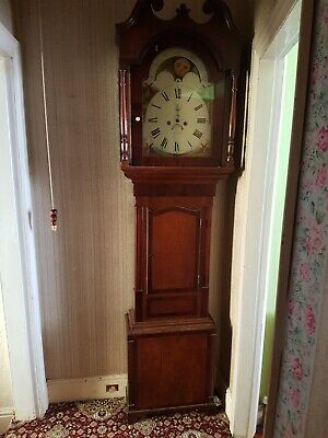 great grandfather clock made by john telford 1850