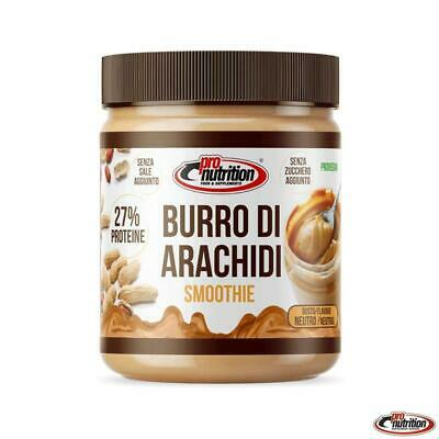 PRONUTRITION BURRO DI ARACHIDI 500g smoothie no zuccheri aggiunti pro nutrition