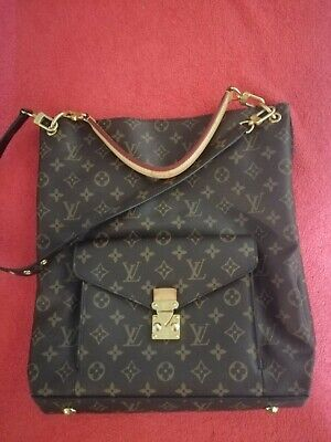 Authentic LOUIS VUITTON Monogram Metis France M40781
