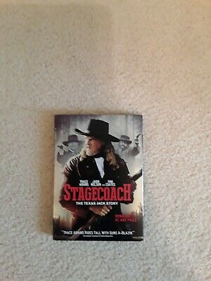 Stagecoach: The Texas Jack Story - DVD -  Trace Adkins - Like New