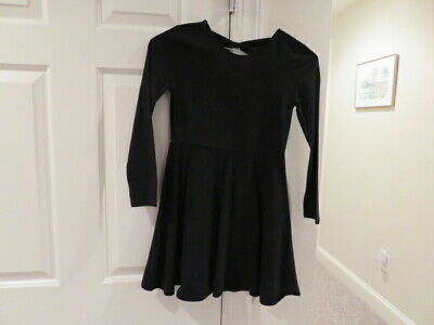 EUC!!  The Children's Place Black Cotton Dress - Size Girls10