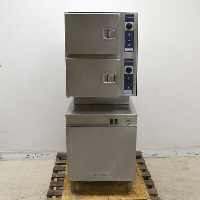 Cleveland 24CEM24 Commercial Convection Steamer Electric 6-Pan w/ Boiler
