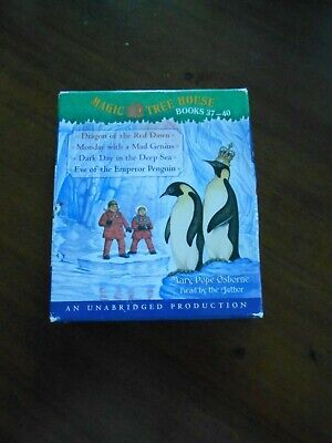 Magic Tree House Collection Audio Books 37 - 40  Unabridged 4 Audio CDs