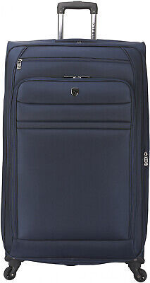 Travel Luggage 32 in. Rolling Expandable 4 Wheel Spinner Suitcase Vacation Tote