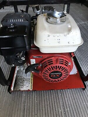 Rice Hydro Dph-3b Hydrostatic Test Pump 11 Gpm Up To 550 Psi Honda Motor 5.5