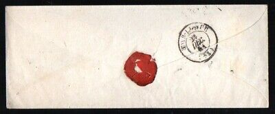 France: 1851 cover to Bar-Le Duc from Paris with '25' handstamp