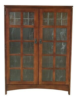 48937EC: DREXEL Mission Style Arts & Crafts Bookcase
