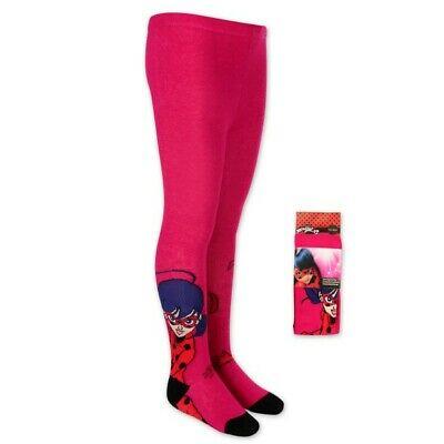 Miraculous Tights Age 3-9 Years - Red