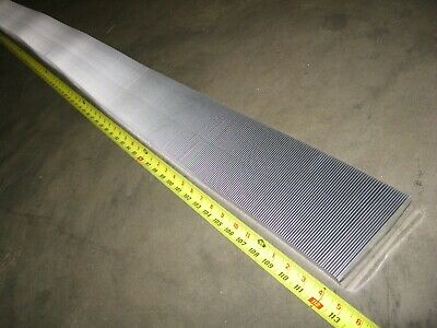 "Aluminum Thermal Heat Transfer Fin 4.6"" x 112"" Flexible Corrugated Folded Radial"