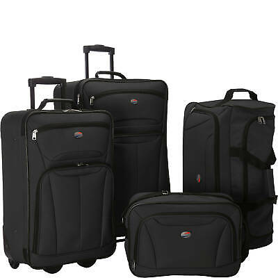 American Tourister Fieldbrook II 4-Piece Nested Luggage Set - 3 Color Choices