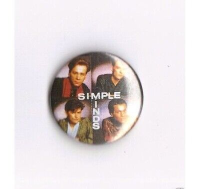 "Simple Minds  "" Badge """