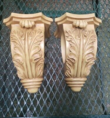 Vintage Classical Shelf Acanthus leaf Wall Corbel Sconce Bracket