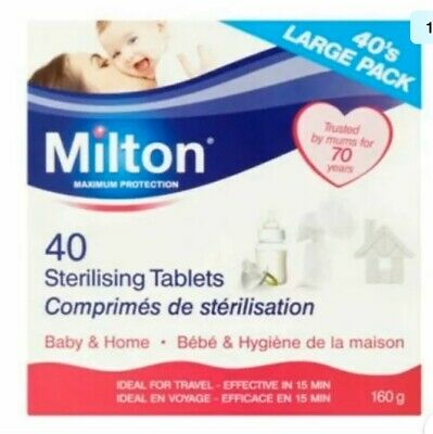Milton Maximum Protection 40Sterilising Tablets
