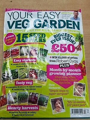 Your Easy Veg Garden magazine 2020 Month-by-Month Growing Planner + 15 Seed Pack