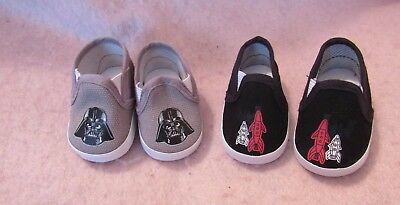 Darth Vader /& Rocket Shoes fit American Boy Doll 18 Inch Clothes Seller lsful