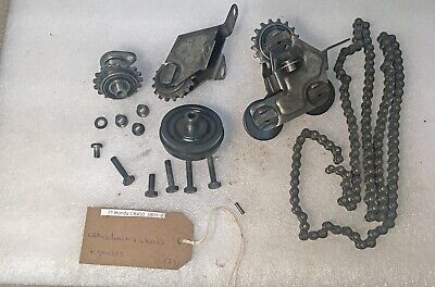 1971 Honda CB450 CB 450 K DOHC engine cam chain, guide wheels and rollers kit