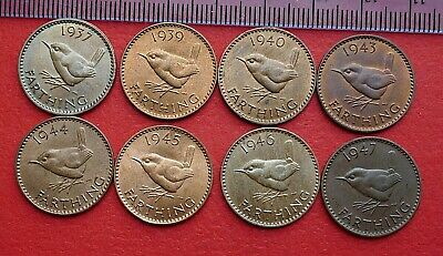 George VI Farthings - 1937 to 1952 - Choose your date or grade