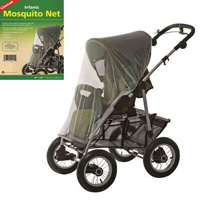 Coghlans Insect Fly Cover Mosquito Net Pram Baby Stroller Sun Dust Mesh Protect