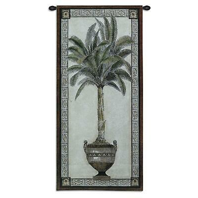 Old World Palm II  North American Made Woven Tapestry Wall Hanging