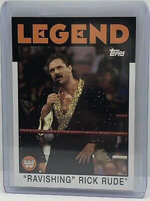 Ricky The Dragon Steamboat 2016 WWE Topps Heritage légende base trading card WWF