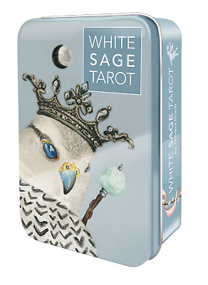 White Sage Tarot Deck in Tin USGS - 78 Major and Minor Arcana Cards