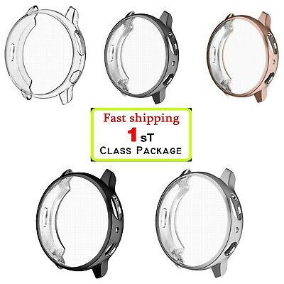 3Pack For Samsung Galaxy Watch Active 2 40/44mm Screen Protector Full Cover case
