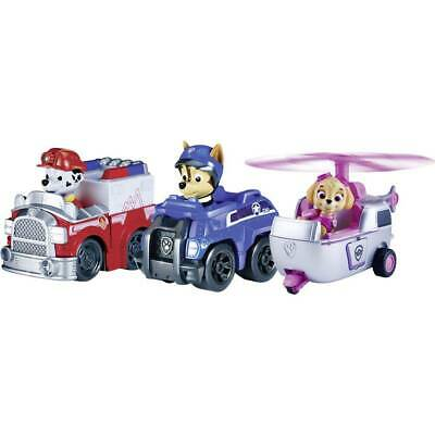 Spin Master: veicolo base Paw Patrol Rescue Racer 3, Rescue Marshall, spy e