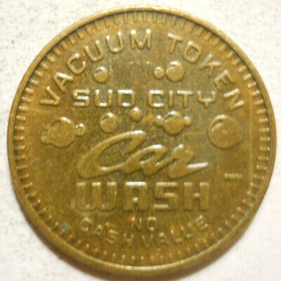 Sud City Car Wash (Griffith, Indiana) token - IN3840A