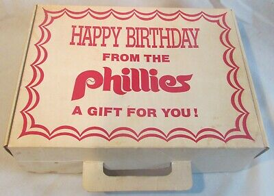 Happy Birthday From The Phillies 1979 Tastycake Gift Cap Decal Cards Ball Team!!