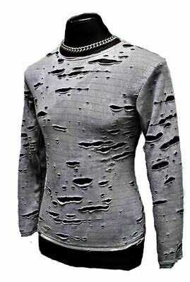 Shrine Decayed P Rock Gothic Cyber Punk Goth Steampunk Shirt Zombie Long Sleeve