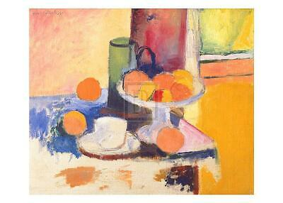 Basket with Oranges Henri Matisse Figurative Still Life Fruit Print Poster 11x14