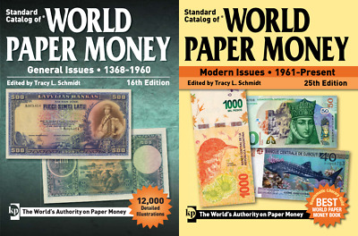 KRAUSE STANDARD CATALOG OF WORLD PAPER MONEY 1961-DATE 24TH EDITION FREE SHIP!!