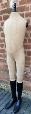 Vintage style French Mannequin - Canvas and Wood - 130cm High