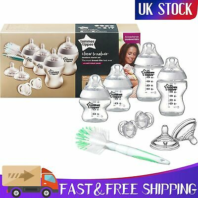 Tommee Tippee Complete Newborn Baby Starter Bottle Kit Set 4 Anti Colic Bottles