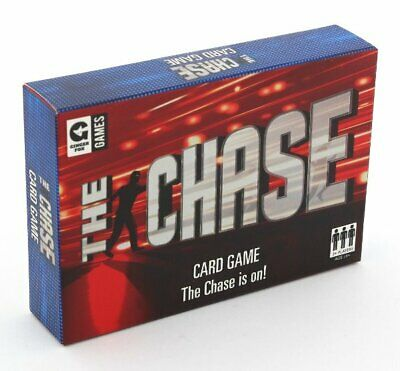 Ginger Fox THE CHASE Card Game 12+ Based on TV Quiz Show