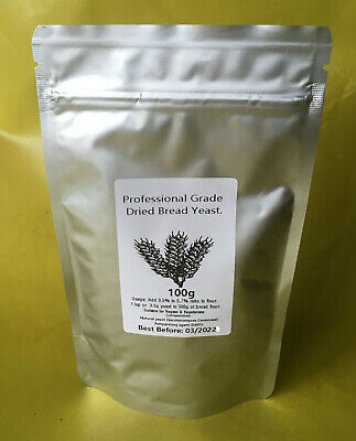 Yeast Instant Dried Bread Professional Grade Yeest Bakers Baking 7g 25g 50g 100g