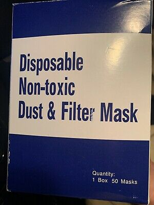 face cover Mouth dust 50 count one box filter filtrate