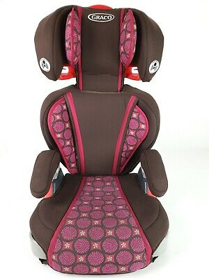 Graco Turbo Booster Car Seat Pink & Brown